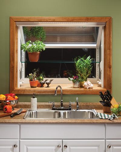 Joyce Window Kitchen Garden Window