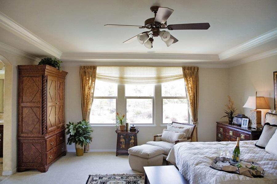 Joyce VueLine Windows in Master Bedroom