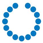 Singular logo circles white title