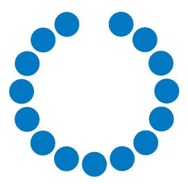 Singular logo circles white