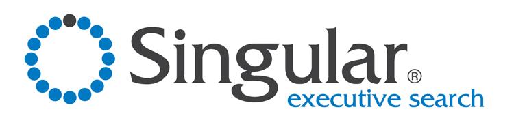 Singular logo white