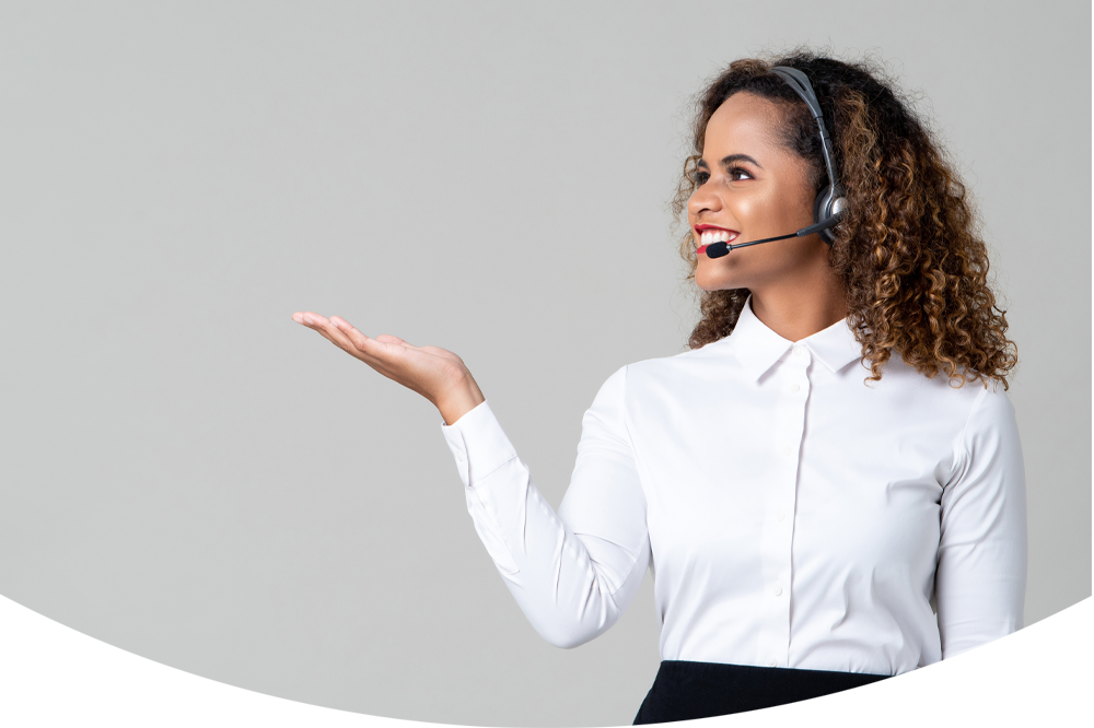 contact us female staff member mobile