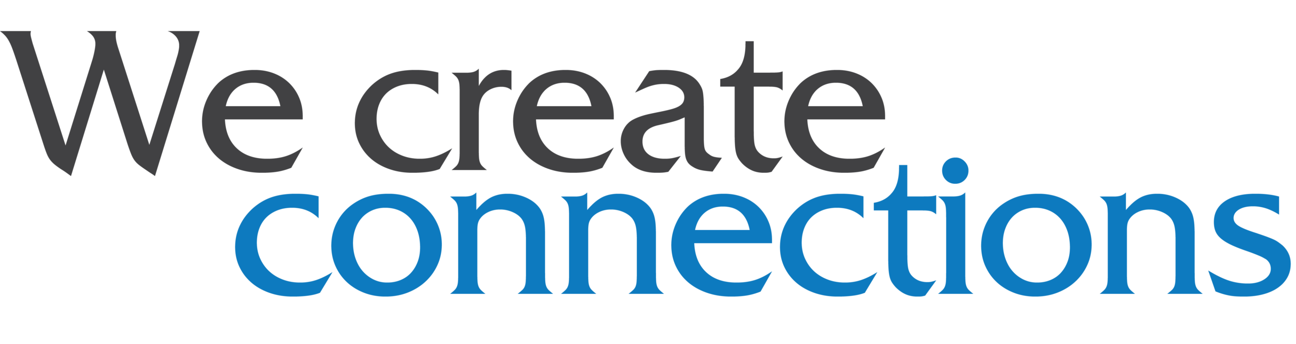 we create connections head
