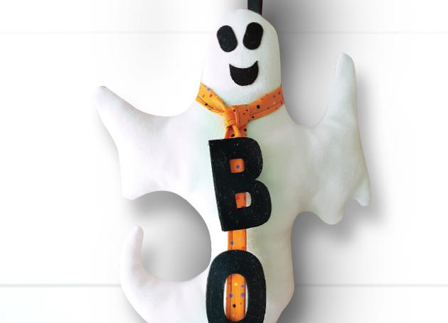 spooky doorhanger project