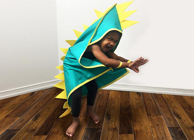dinosaure costume sewing