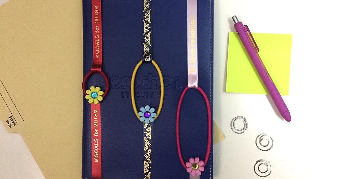 Ribbon Bookmark Crafting Brother Canada