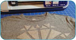 ScanNCut Rockin' T-shirt - Step 11