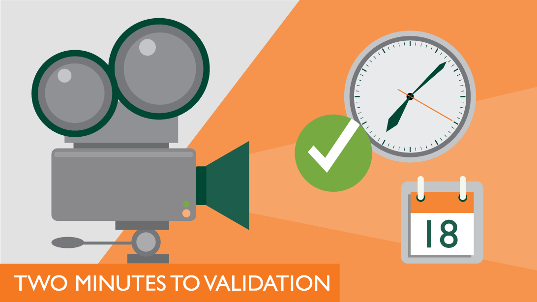 Two Minutes to Validation Category