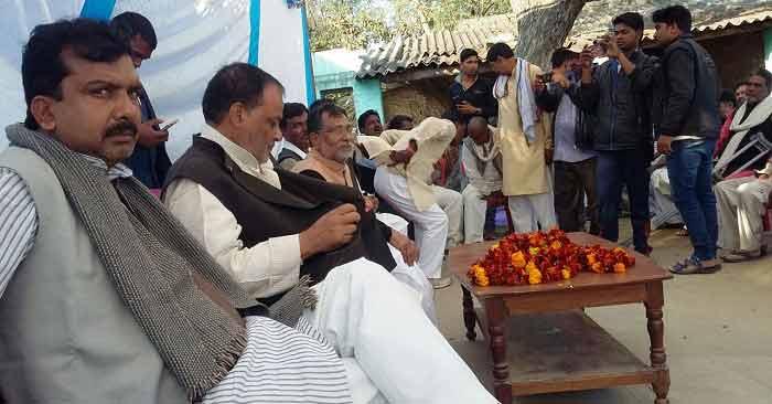चौपाल में अपनी उपलब्धियां गिनाए पंचायती राज मंत्री