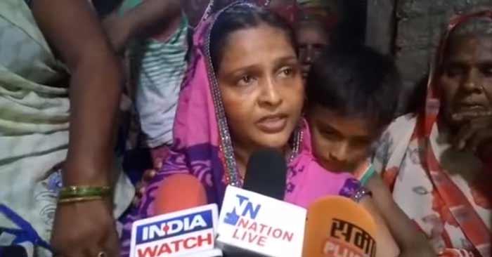 """शहीद की पत्नी चिंता देवी ने बढ़ाई प्रशासन की """"चिंता"""""""