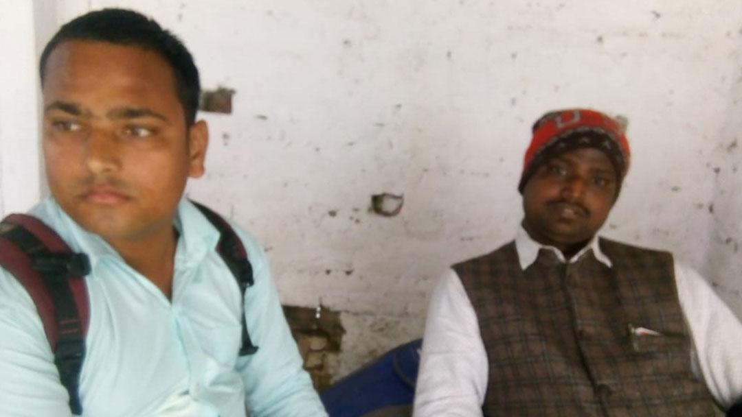 गांव की समस्या को लेकर फर्जी पत्रकार पर पैसे ठगने का आरोप