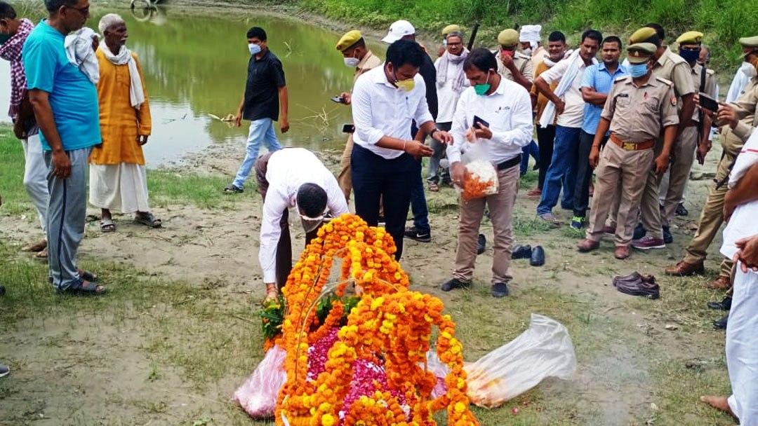 पंचतत्व में विलीन हुए मानवाधिकार के अप्रतिम योद्धा चितरंजन सिंह
