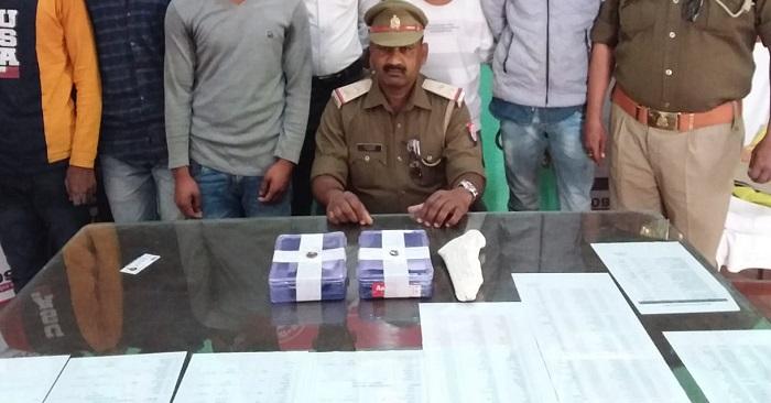 भीमपुरा में छिनैती और मोबाइल चोरी में शामिल 5 बदमाश धरे गए