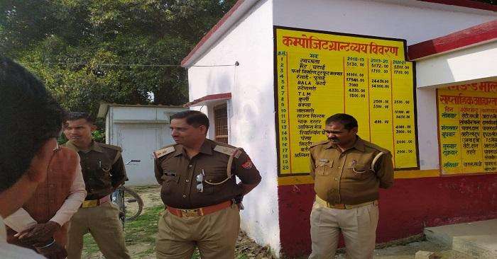 चोरों ने प्राइमरी स्कूल से हजारों रुपए का सामान चोरी किया