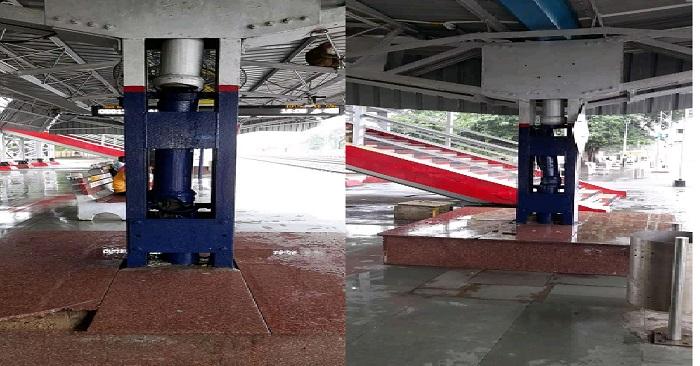 अधिकारी के निरीक्षण में बेल्थरारोड रेलवे स्टेशन की पोल खुली, कमियां ही कमियां मिलीं