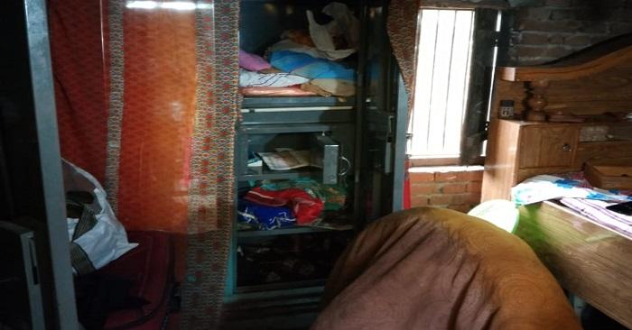 सुखपुरामें चोरों ने हजारों रुपए के जेवरात व नगदी पर साफ किए हाथ