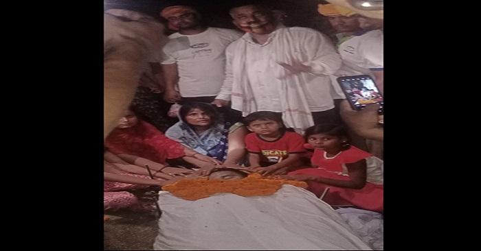 पैतृक गांव में हुआ जवान के पार्थिव शरीर का अंतिम संस्कार, पूरा क्षेत्र गमगीन