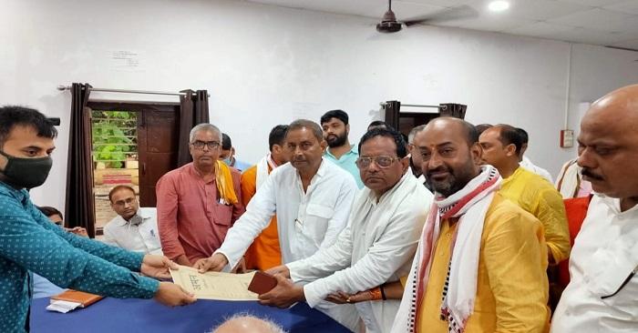 मुरलीछपरा से कन्हैया सिंह का निर्विरोध ब्लॉक प्रमुख चुना जाना पक्का
