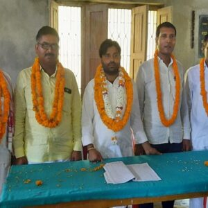 सिकंदरपुर ब्लॉक के प्रधानों ने चुना प्रधान संघ का अध्यक्ष, उपाध्यक्ष और महामंत्री