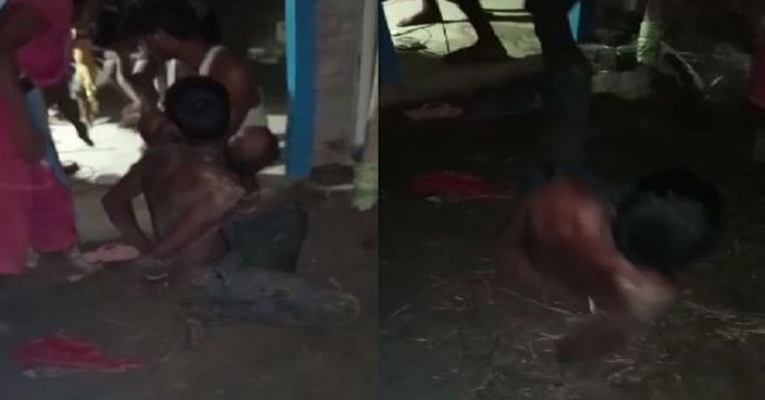 सहतवार के सुरहिया गांव में युवक को दागने का वीडियो वायरल, 4 आरोपियों की पुलिस को तलाश