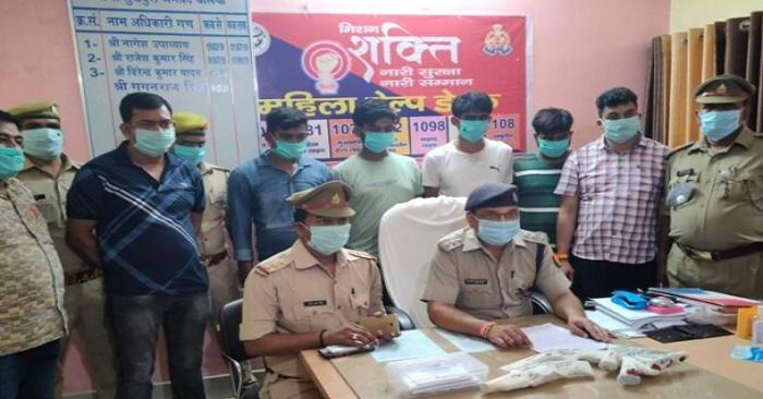 सुखपुरा पुलिस ने मुठभेड़ के बाद चार अपराधियों को गिरफ्तार किया, एक फरार