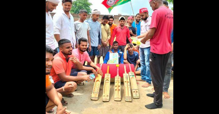 राष्ट्रीय खेल दिवस के अवसर पर खिलाड़ी घेरा वाल