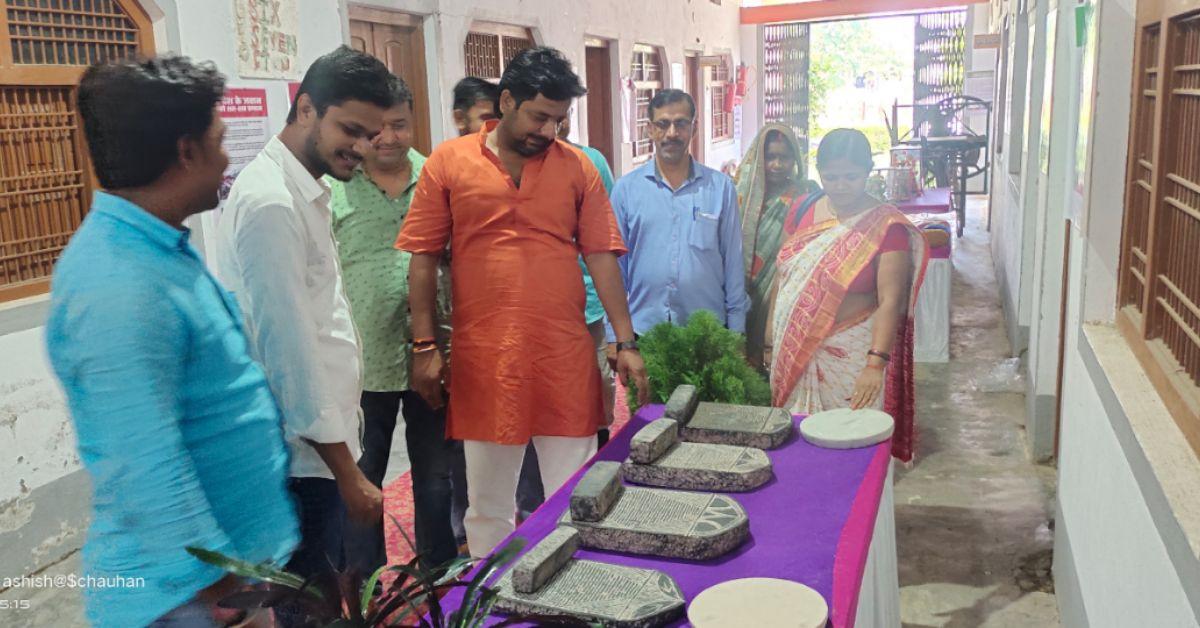 नव व्यक्तिभारत मेला के दूसरे दिन का शुभारंभ भाजपा नेता मुकेश पांडेय और विहिप जिला सह मंत्री संजीव दुबे ने किया