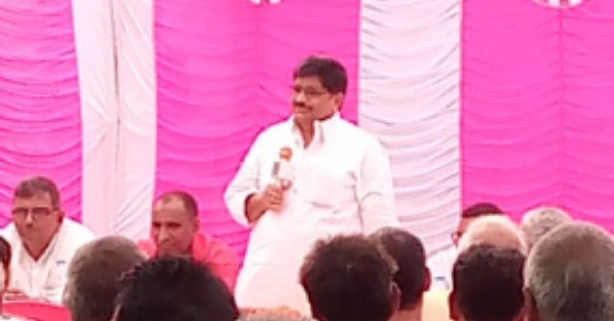 सपा नेता जियाउद्दीन रिजवी ने कहा- आज देश के नौजवान, किसान, मजदूर और छात्र सब परेशान हैं