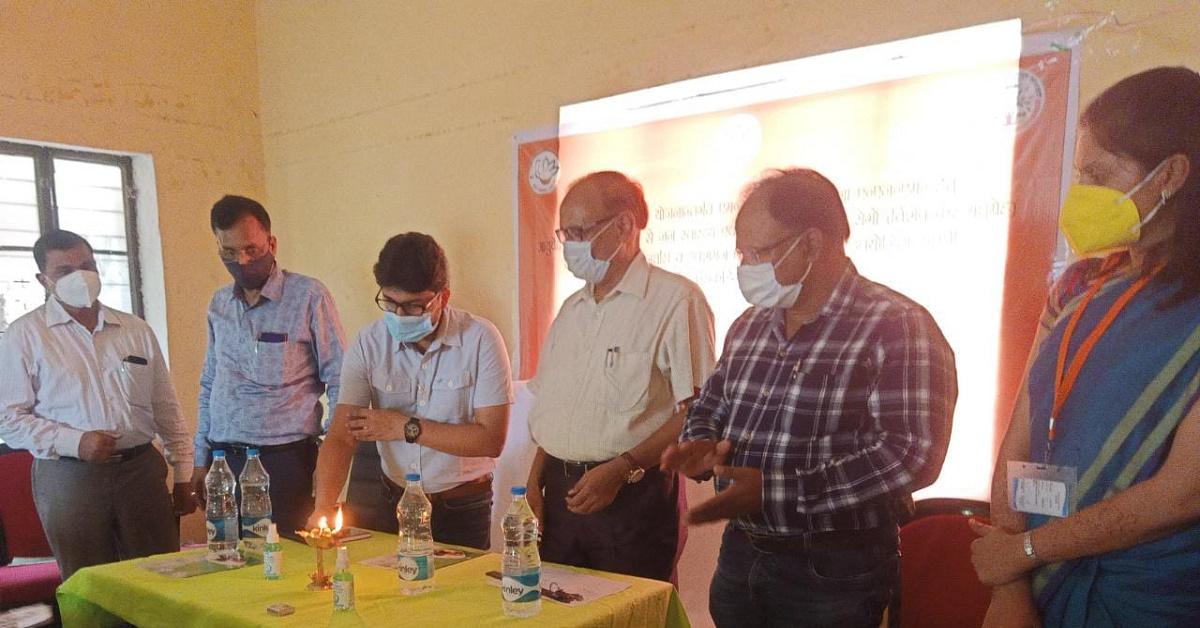 आशा और एएनएम को दिया गया भारतीय चिकित्सा पद्धति के प्रचार-प्रसार का प्रशिक्षण