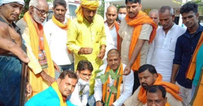 भाजपा किसान मोर्चा रेवती मंडल ने किया जन चौपाल का आयोजन