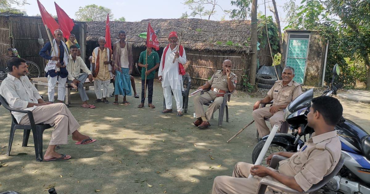 किसान नेताओं को उनके घरों में पुलिस ने नजरबंद किया