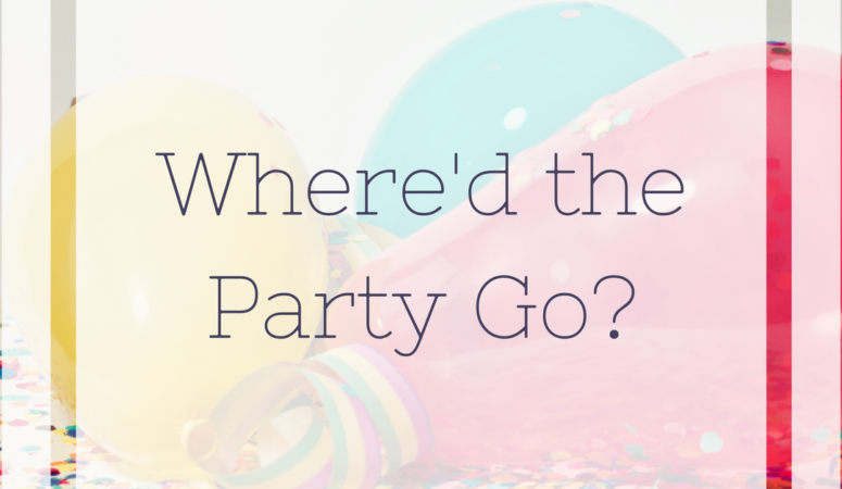 Where'd the Party Go?