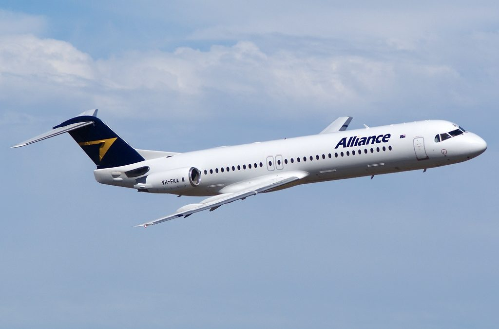 Australia's Alliance Airlines Continues To Add Fokkers
