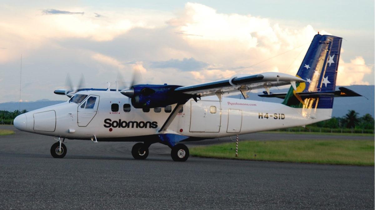 Solomon Airlines Helping to Fund Tourism Infrastructure Development