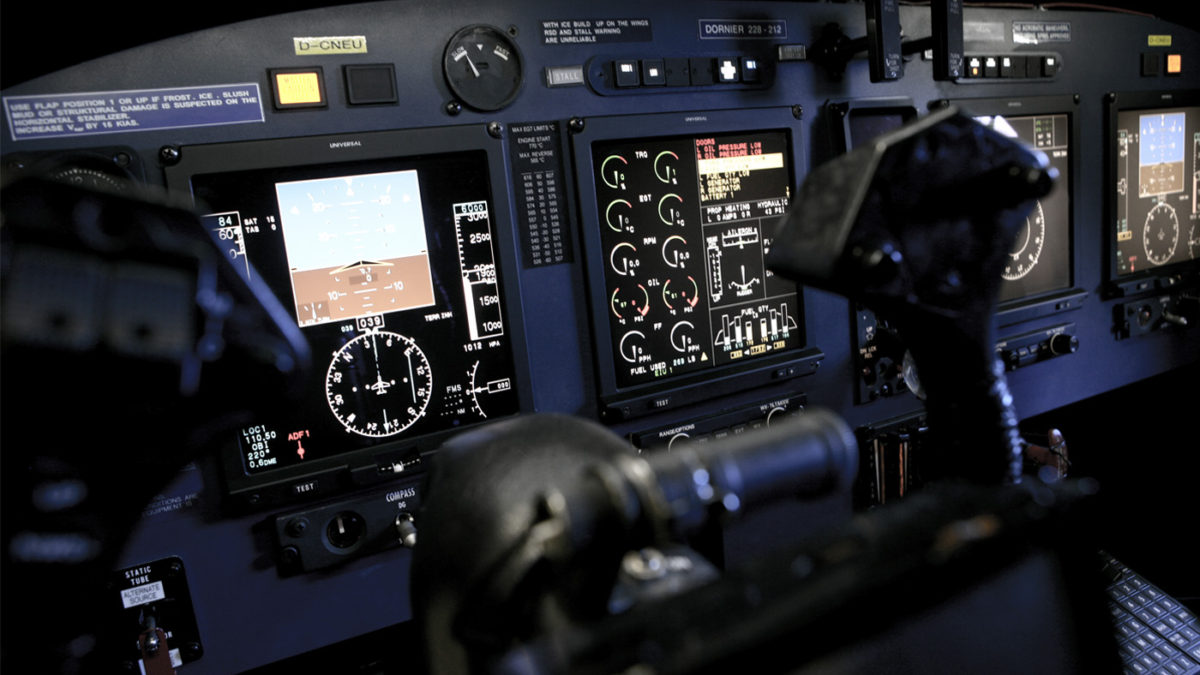 Satellite-Based Precision Navigation with the Dornier 228