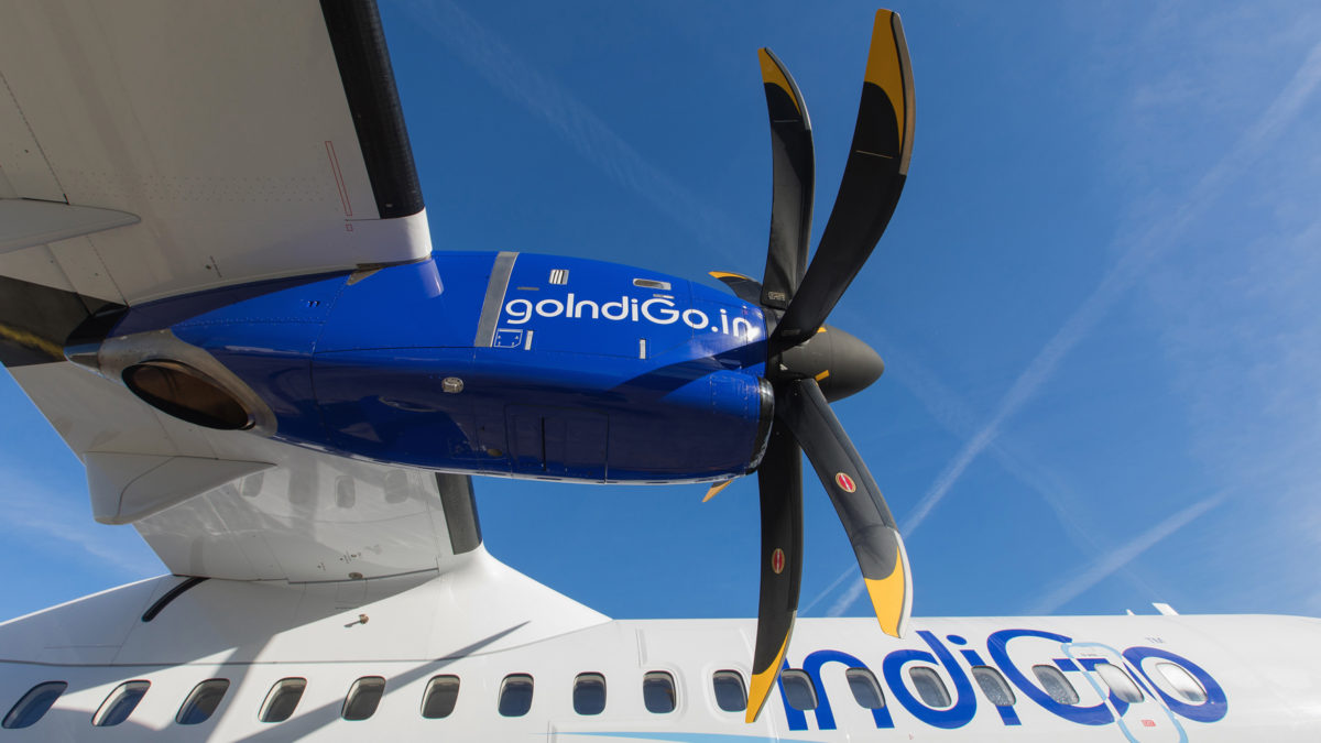 IndiGo Continuing To Take Delivery Of ATRs