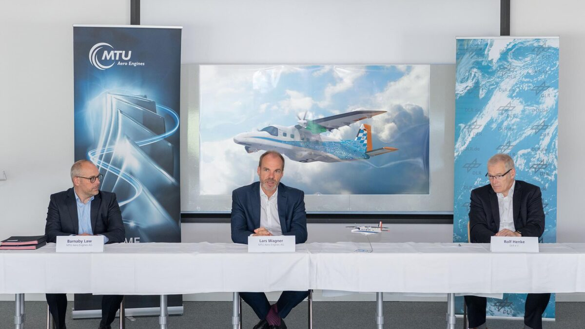 DLR, MTU To Work on Hydrogen-Electric Dornier 228 Demonstrator