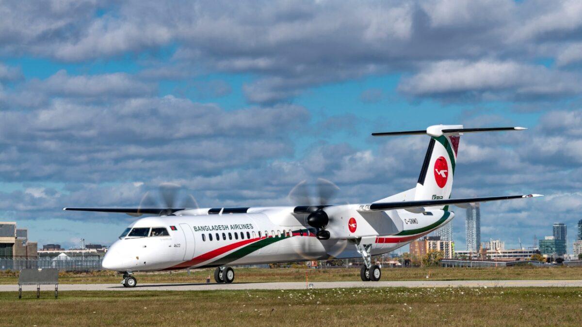 Biman Bangladesh Receiving First of Three Dash 8-400s