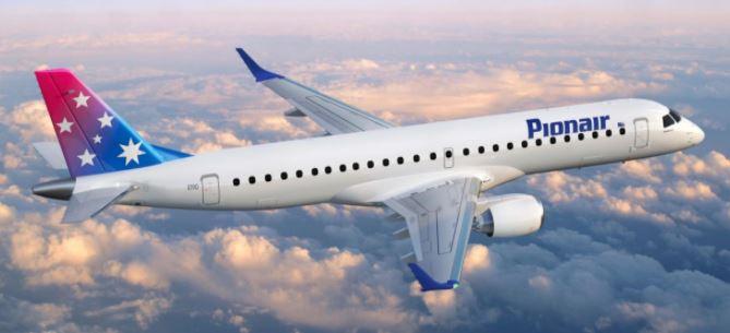 Australia's Pionair Buys Embraer E190