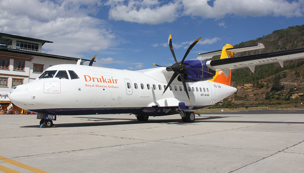 Druk Air Suspends Domestic Services as Bhutan Goes Into Lockdown