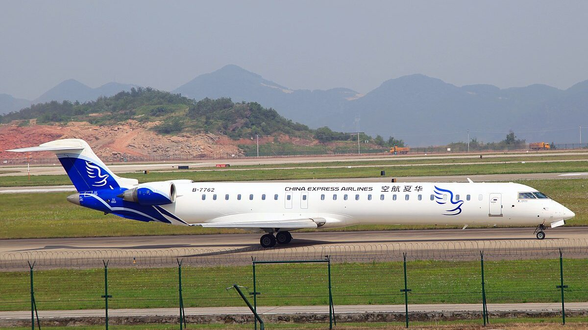 Chinese Cargo Start-Up To Use CRJ900s