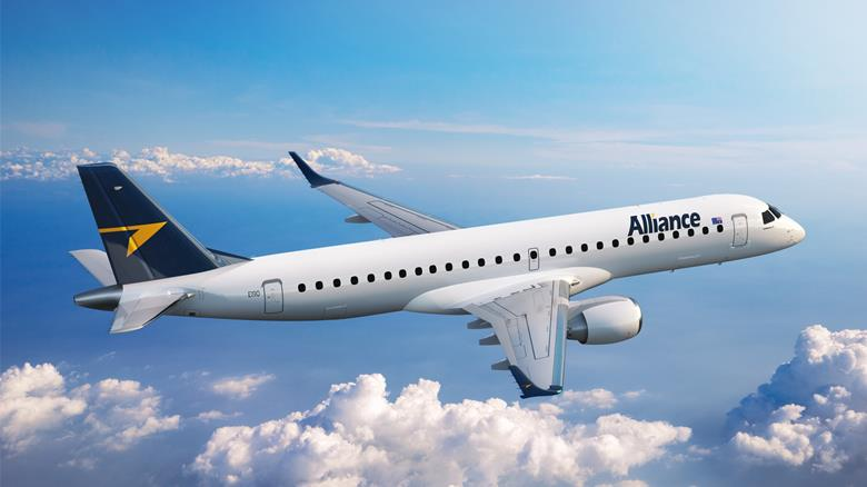 Australia's Alliance Airlines To Use Embraer RJs For Contract Flying and Dry Leasing Business