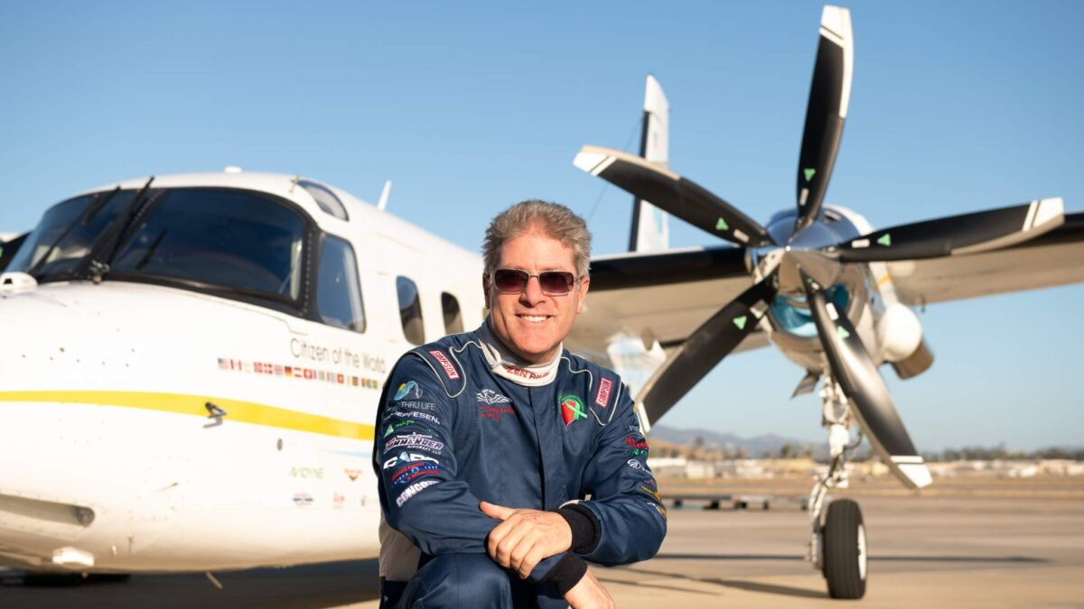 Interview With Robert DeLaurentis Who Flew A Turbo Commander 900 To The South Pole, Becoming First To Do So Non-Stop Using A Turboprop