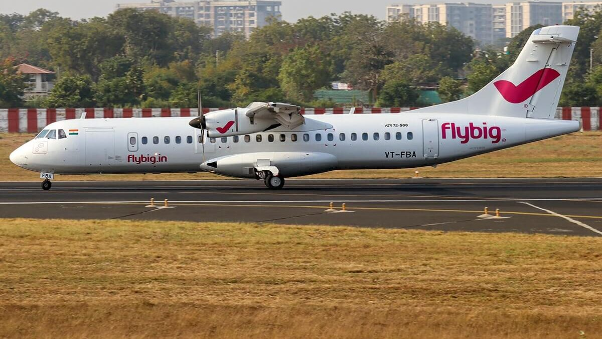 India's Flybig Expanding In Northeast India, Adding ATR -600s