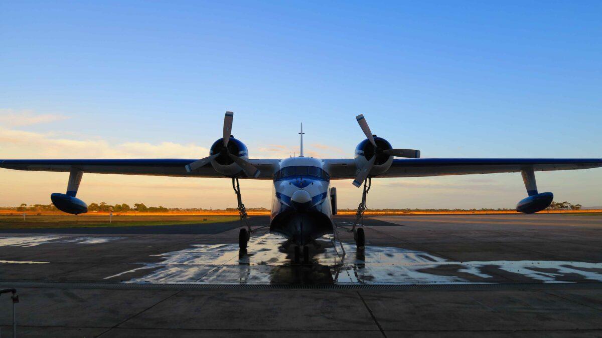Australia's Amphibian Aerospace Industries, Type Certificate Holder Of The Grumman G-111 Amphibious Aircraft, To Re-Engine With Pratt & Whitney PT6 Turboprops