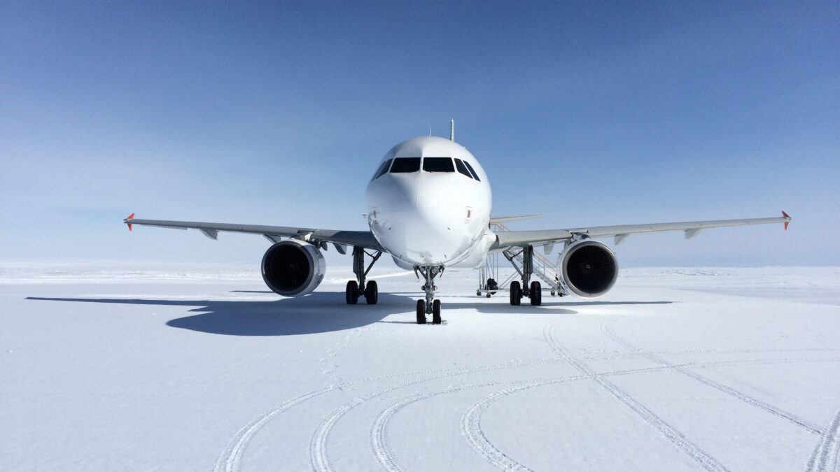 Flying To The Coldest Place On Earth, Antarctica