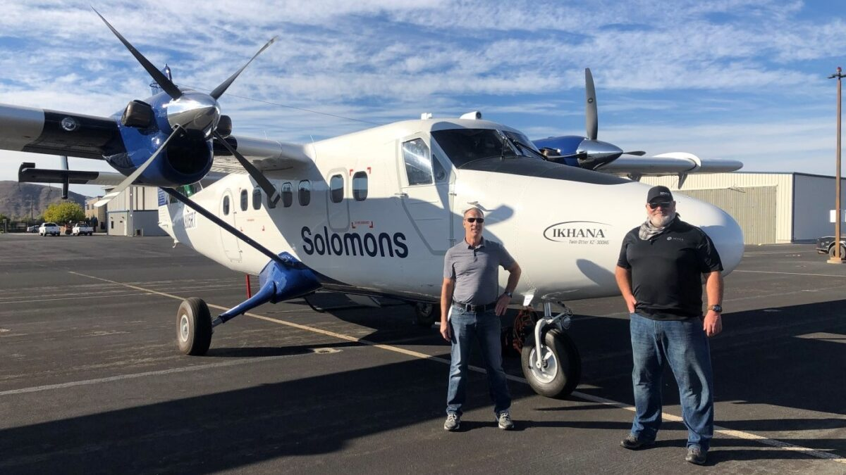 Solomon Airlines Adds Ikhana Twin Otter As Its Financials Improve