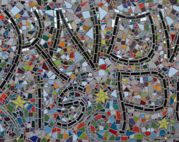 architectural mosaics co-creating mosaic art community art community mosaic ecological re-use garbage to gorgeous green art large scale art big art mosaic art mosaic classes instruction mosaic mural mural art planet friendly art public mosaic art school art mosaic upcycling urban mosaic art youth mosaics  'Knowledge Is Power'  School Mosaic Mural imgsvr-2