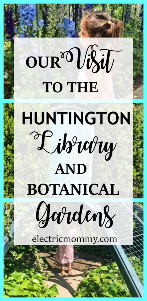 Our Visit to the Huntington Library and Botanical Gardens, Things to Do with Kids in LA, Kid Activities, Place to Take Kids in LA, Los Angeles, Pasadena
