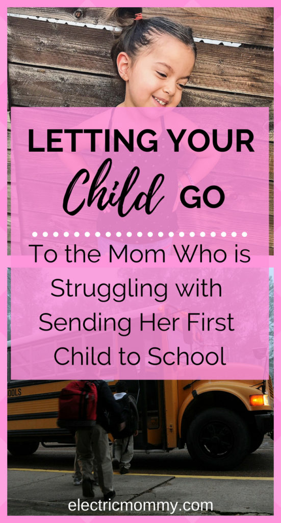 My oldest daughter starts preschool in two weeks and I am consumed with emotion! I never thought it would be so hard to let go of my child and let her off into the world, out from under my protection. This one is for all you mama's that can relate and that struggled with sending their kid to school. | Anxiety About Sending Child to School | Back to School Nerves | Letting Your Child Go #backtoschool #backtoschoolnerves